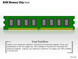 0814_ram_memory_chip_icon_flash_nand_pcie_device_for_storage_ppt_slides_Slide01