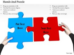 0814_red_and_blue_puzzle_fixed_by_hands_image_graphics_for_powerpoint_Slide01