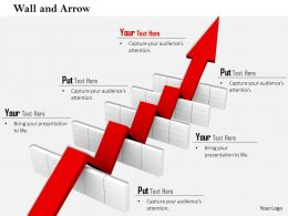 0814_red_arrow_passing_over_the_multiple_hurdles_image_graphics_for_powerpoint_Slide01