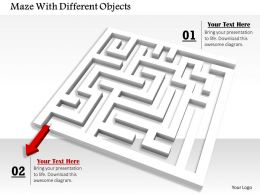 0814_red_arrow_showing_solution_path_from_maze_image_graphics_for_powerpoint_Slide01