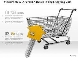 0814 Shopping Cart House Key Graphic For Security Shopping Image Graphics For Powerpoint