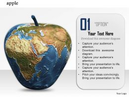 0914_3d_apple_printed_with_earth_globe_image_graphics_for_powerpoint_Slide01