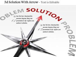 0914_3d_problem_solution_with_arrow_image_graphics_for_powerpoint_Slide01
