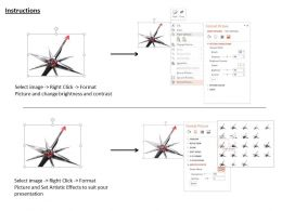 0914 3d Problem Solution With Arrow Image Graphics For PowerPoint