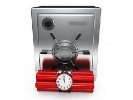 0914_3d_steel_bank_safe_with_explosives_stock_photo_Slide01