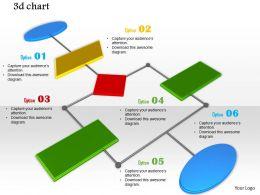 0914 3d Symbols Link Chart Image Slide Ppt Image Graphics For Powerpoint