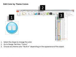 0914 Big Data Technology Icons Analytics Storage Replication Dashboard Magnify Ppt Slide