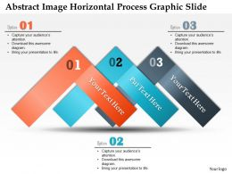 0914 Business Plan Abstract Image Horizontal Process Graphic Slide Powerpoint Template