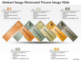 0914 Business Plan Abstract Image Horizontal Process Image Slide Powerpoint Template