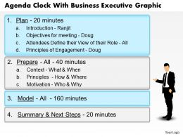 0914_business_plan_agenda_clock_with_business_executive_graphic_powerpoint_template_Slide01