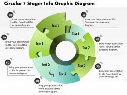 0914 Business Plan Circular 7 Stages Info Graphic Diagram Powerpoint Presentation Template