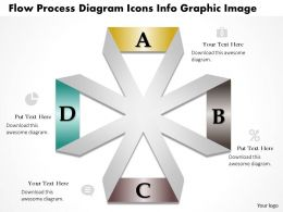0914 Business Plan Flow Process Diagram Icons Info Graphic Image Powerpoint Template