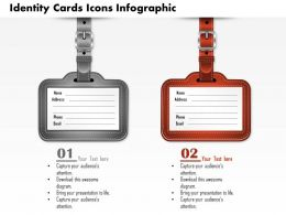 0914 Business Plan Identity Cards Icons Infographic Image Slide Powerpoint Template