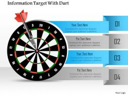 0914_business_plan_information_target_with_dart_powerpoint_template_Slide01