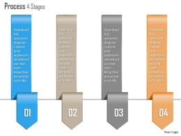 0914 Business Plan Process 4 Stages Agenda Info Graphic Diagram Powerpoint Presentation Template