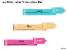 0914 Business Plan Three Stages Process Percentage Image Slide Powerpoint Template