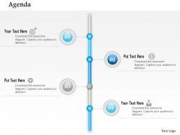 0914 Business Plan Vertical Timeline Agenda Diagran Powerpoint Presentation Template
