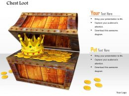 0914 Chest Loot Treasure Money Image Slide Image Graphics For Powerpoint