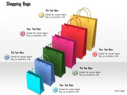 0914 Colorful Shopping Bags Shopping Concept Image Slide Image Graphics For Powerpoint
