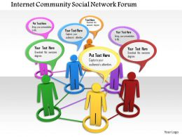 0914 Community Social Network Communication Ppt Slide Image Graphics For Powerpoint