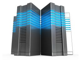 0914 Computer Servers Business Network Design Stock Photo