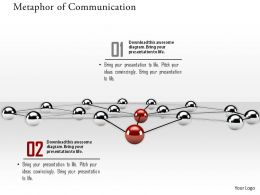 0914 Concept Of Metaphor Of Communication Network Image Graphics For PowerPoint