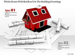 0914 Construction Plan Image With Blueprints House Image Graphics For PowerPoint