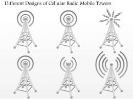 0914 Different Designs Of Cellular Radio Mobile Towers For Wireless Communication Ppt Slide