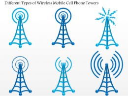 0914 Different Types Of Wireless Mobile Cell Phone Towers Ppt Slide