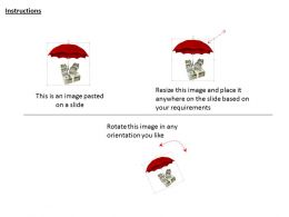 0914_dollar_currency_bundle_with_umbrella_image_graphics_for_powerpoint_Slide02