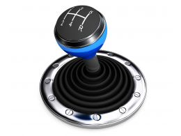0914 Five Gear Stick For Speed Control Stock Photo
