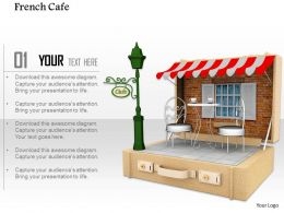 0914 French Cafe Graphic Ppt Slide Image Graphics For Powerpoint