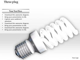 0914 Glowing Bulb Modern Style Image Graphics For Powerpoint