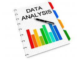 0914 Graphs And Reports For Data Analysis Stock Photo
