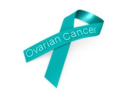 0914 Green Ribbon For Ovarian Cancer Awareness Stock Photo