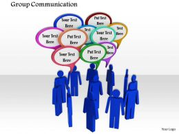 0914 Group Communication 3d Men Communication Box Image Graphics For Powerpoint