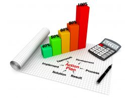 0914_growth_bar_graph_with_action_plan_stock_photo_Slide01