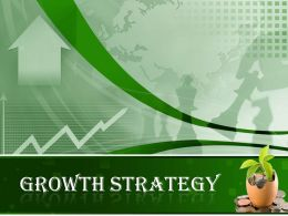0914 Growth Strategy Powerpoint Presentation