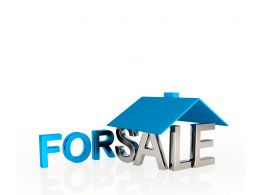 0914 House For Sale Real Estate Concept Graphic Stock Photo