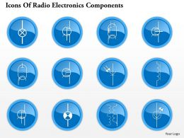 0914 Icons Of Radio Electronics Components 3 Ppt Slide