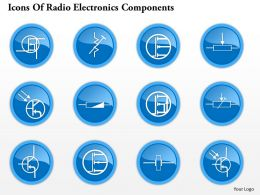 0914 Icons Of Radio Electronics Components 4 Ppt Slide
