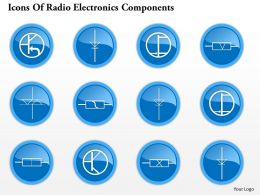 0914 Icons Of Radio Electronics Components 6 Ppt Slide