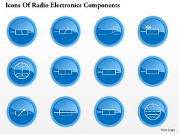 0914 Icons Of Radio Electronics Components 7 Ppt Slide