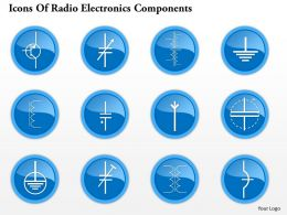 0914 Icons Of Radio Electronics Components 9 Ppt Slide