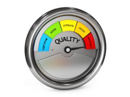 0914 Meter With Excellent Quality Rating Stock Photo