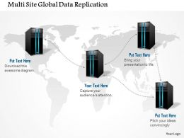 0914 Multi Site Global Data Replication Storage Networking Between Data Centers Ppt Slide