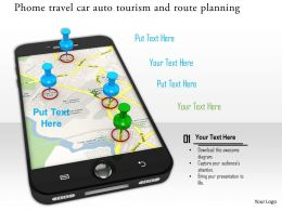 0914 Phone Travel Car Auto Tourism And Route Planning