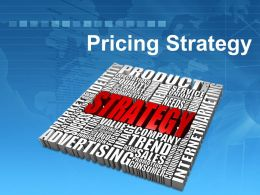 0914 Pricing Strategy Powerpoint Presentation