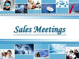 0914 Sales Meeting Powerpoint Presentation