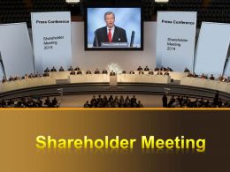 0914 Shareholder Meeting Powerpoint Presentation